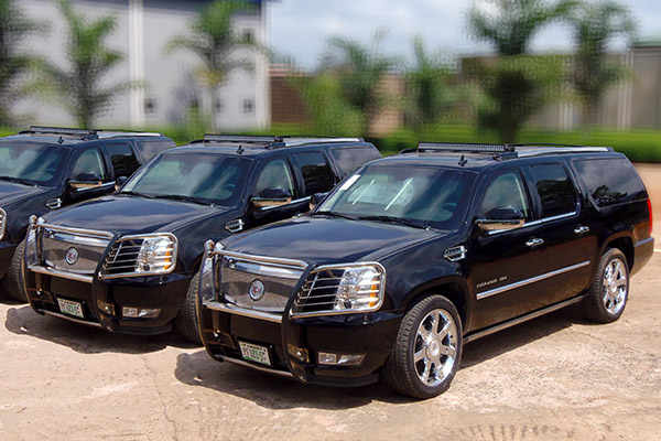 Armoured Escalade